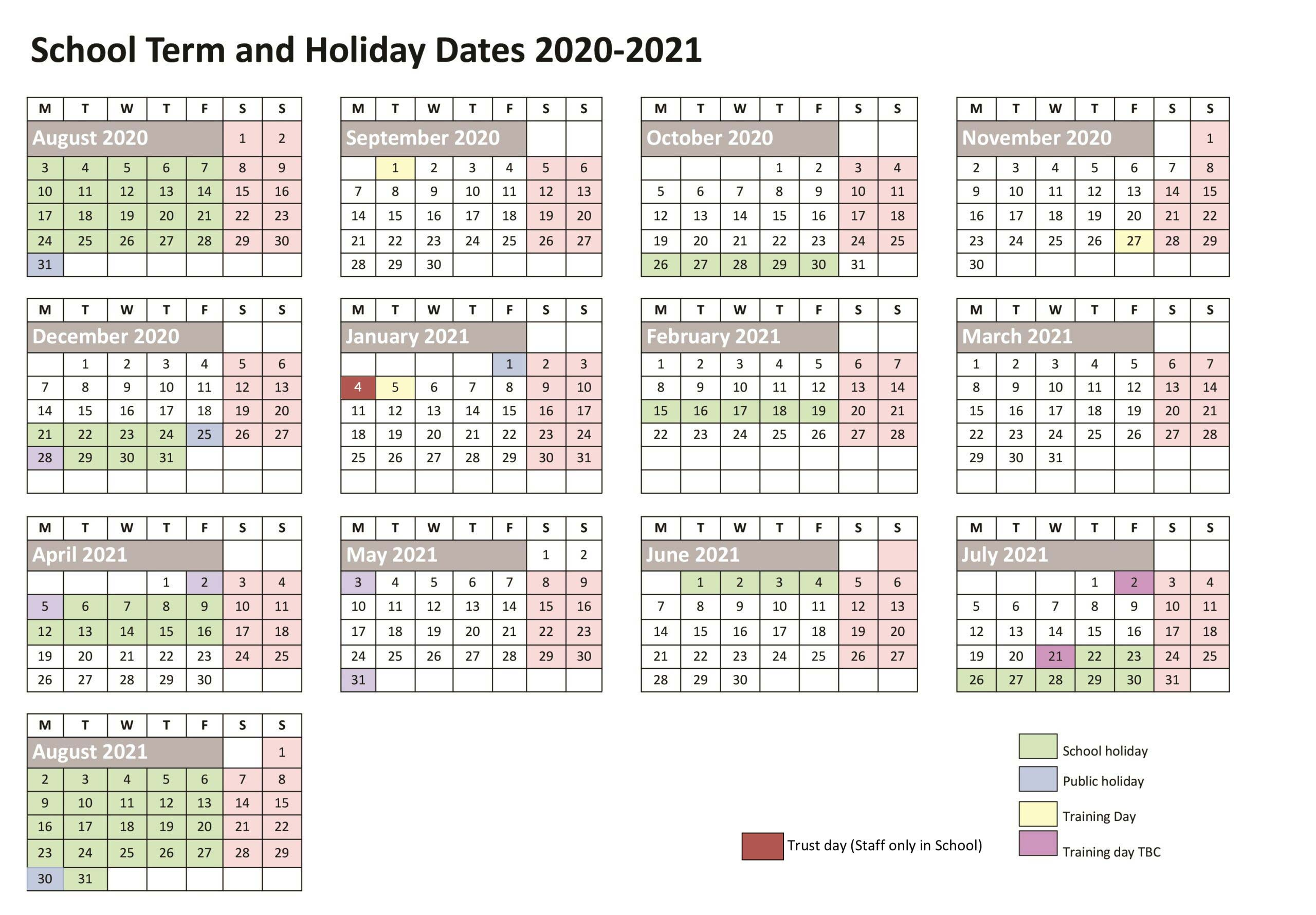 School-Term-Holiday-Dates-2020-Bloxwich-Academy-scaled